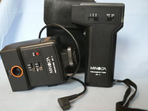 Minolta Receiver IR-1 Transmitter + Receiver Set £19.99